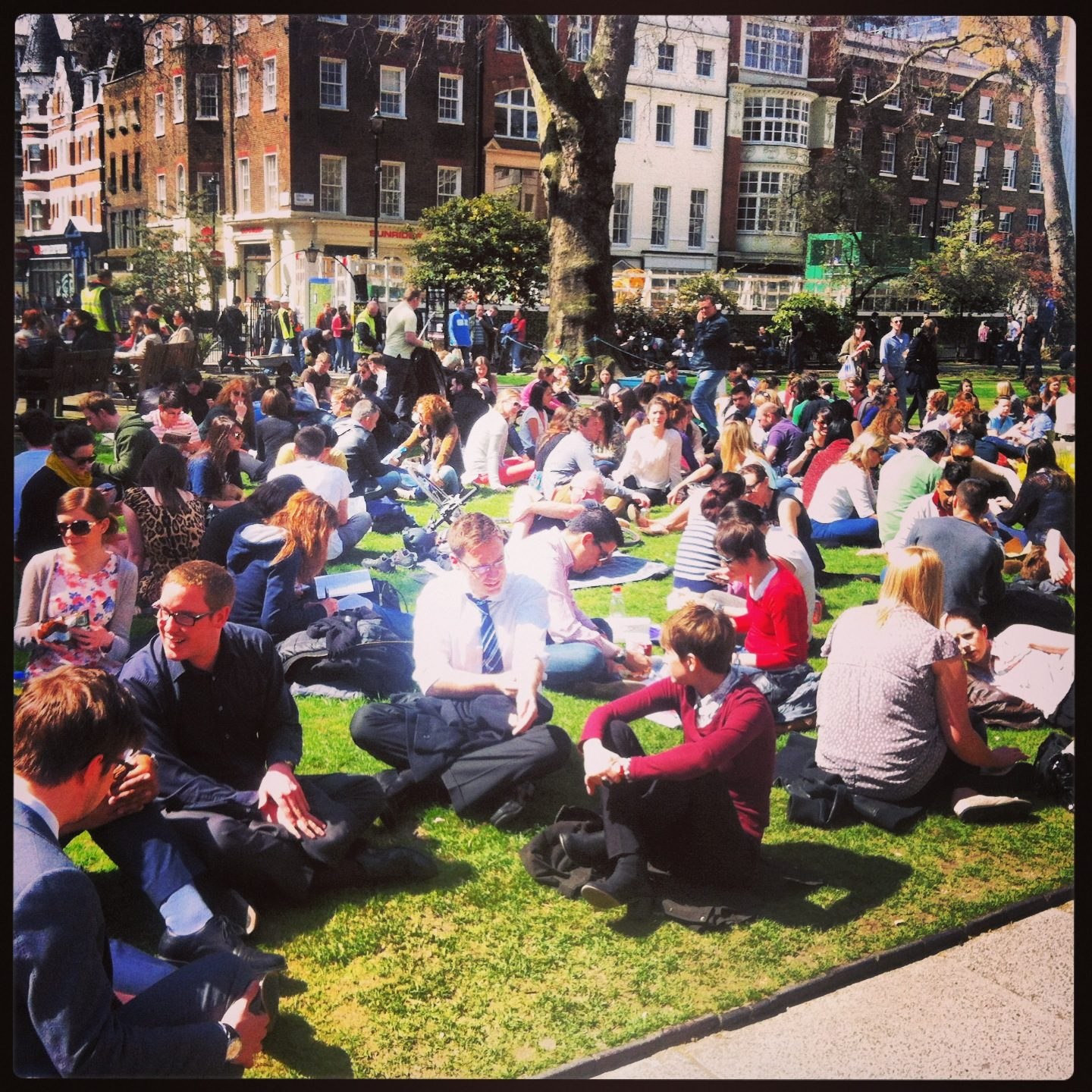 Soho Square, London