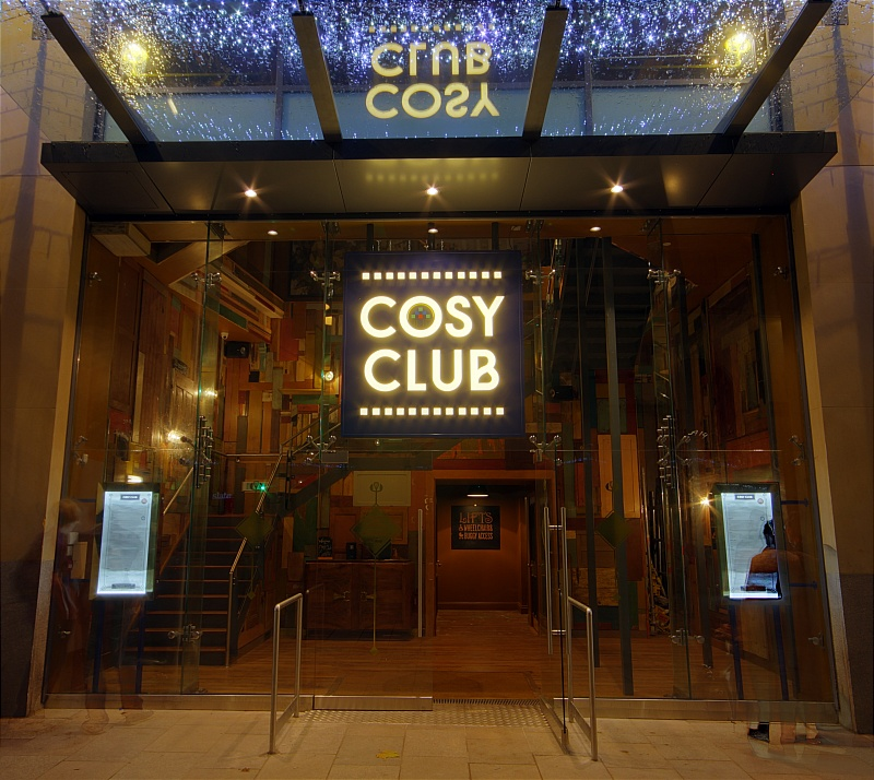 Review: Veggie Burgers at The Cosy Club, Cardiff