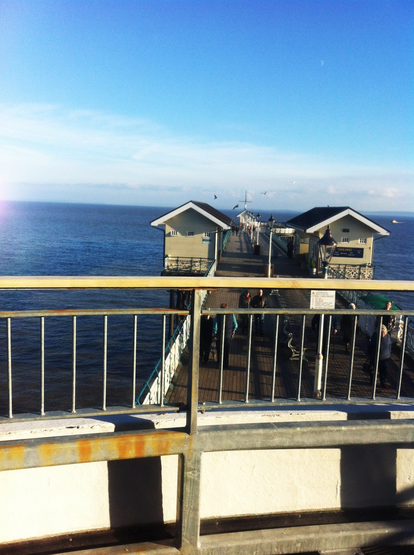 Penarth Pier view