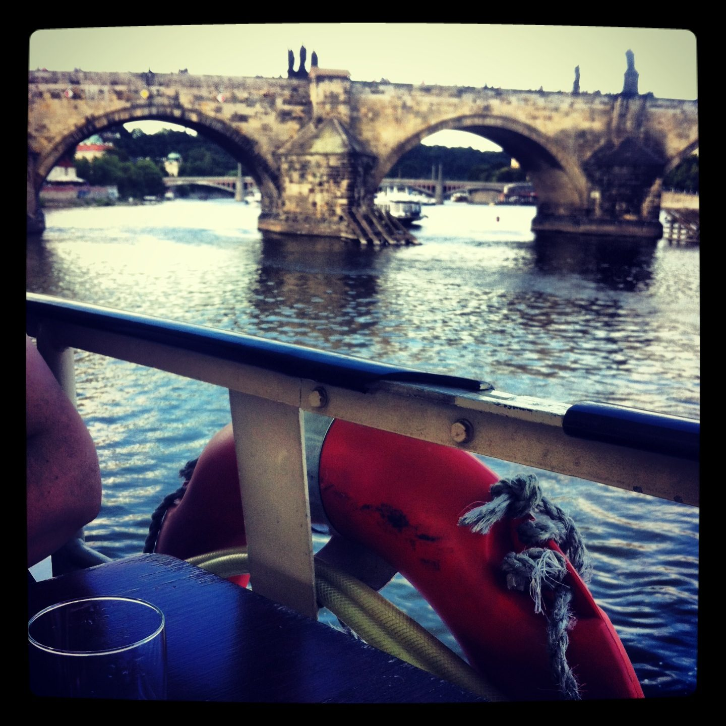 Prague boating