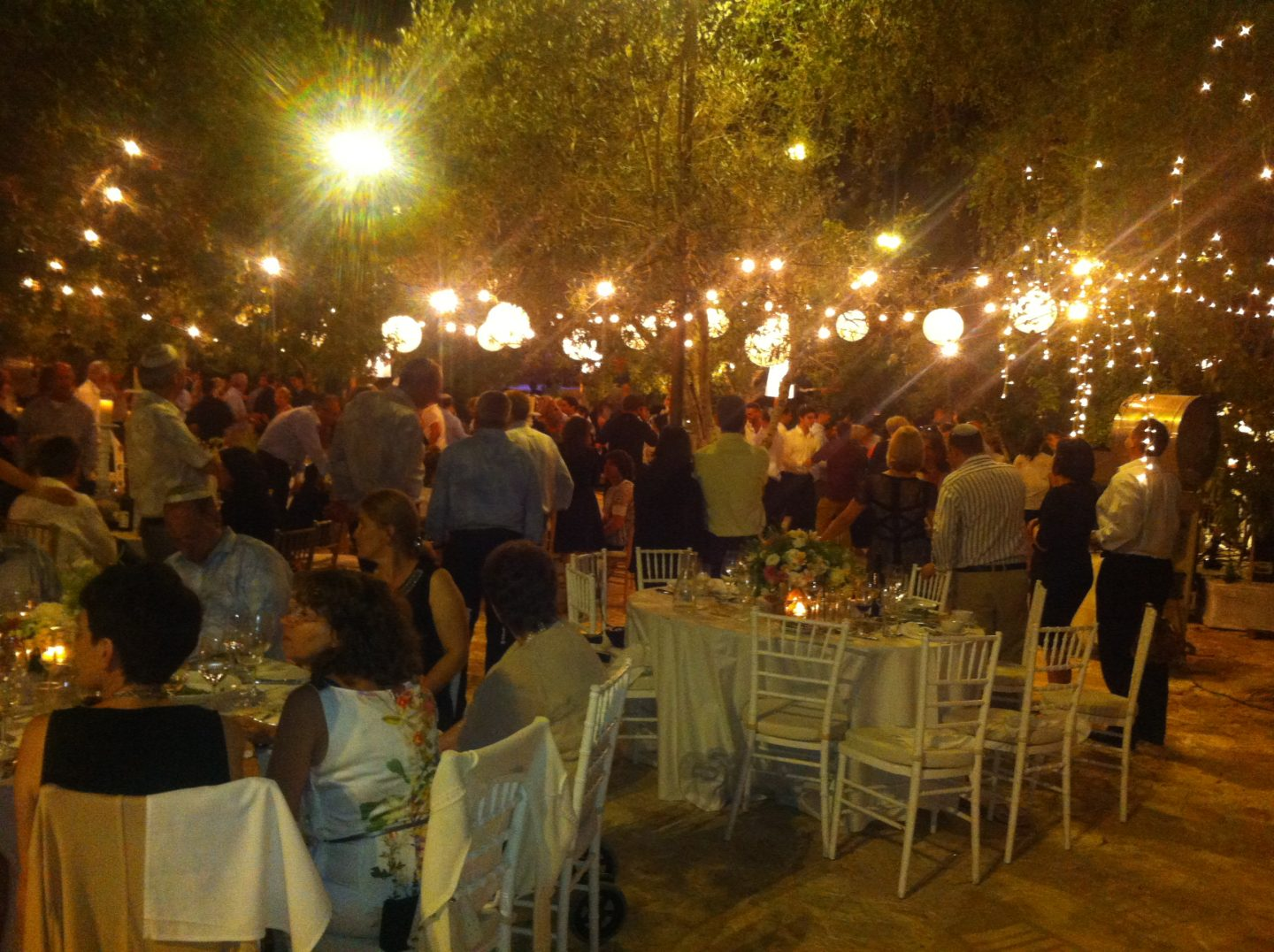 Woodland wedding, Tel Aviv