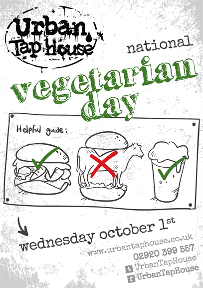 Veggie Day at Urban Taphouse