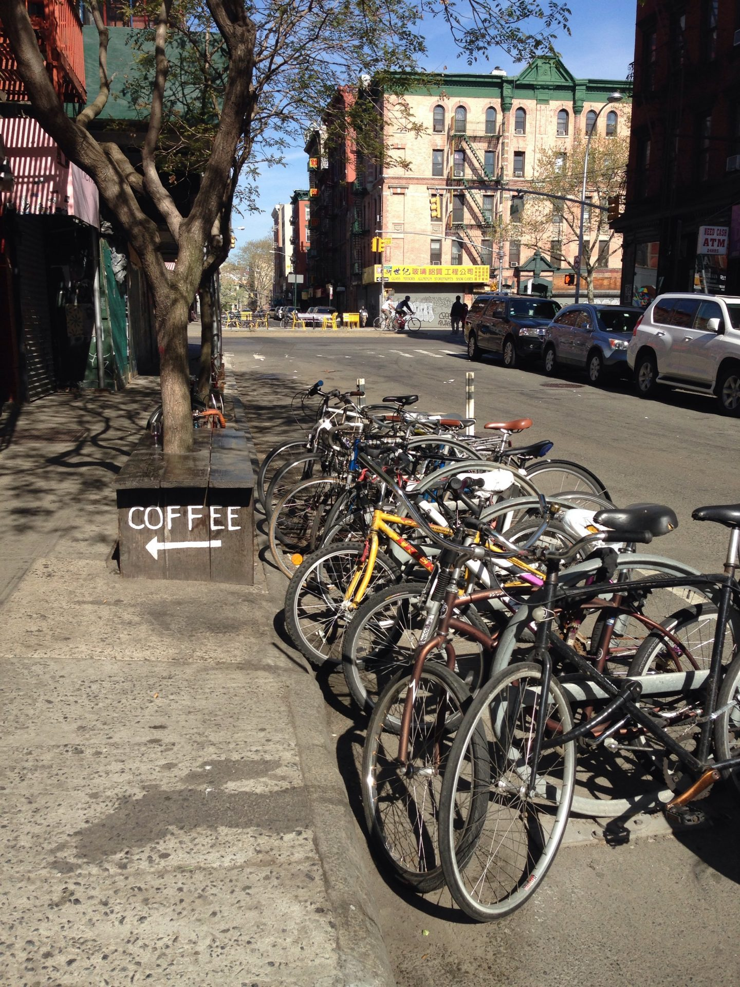 Bikes in NYC