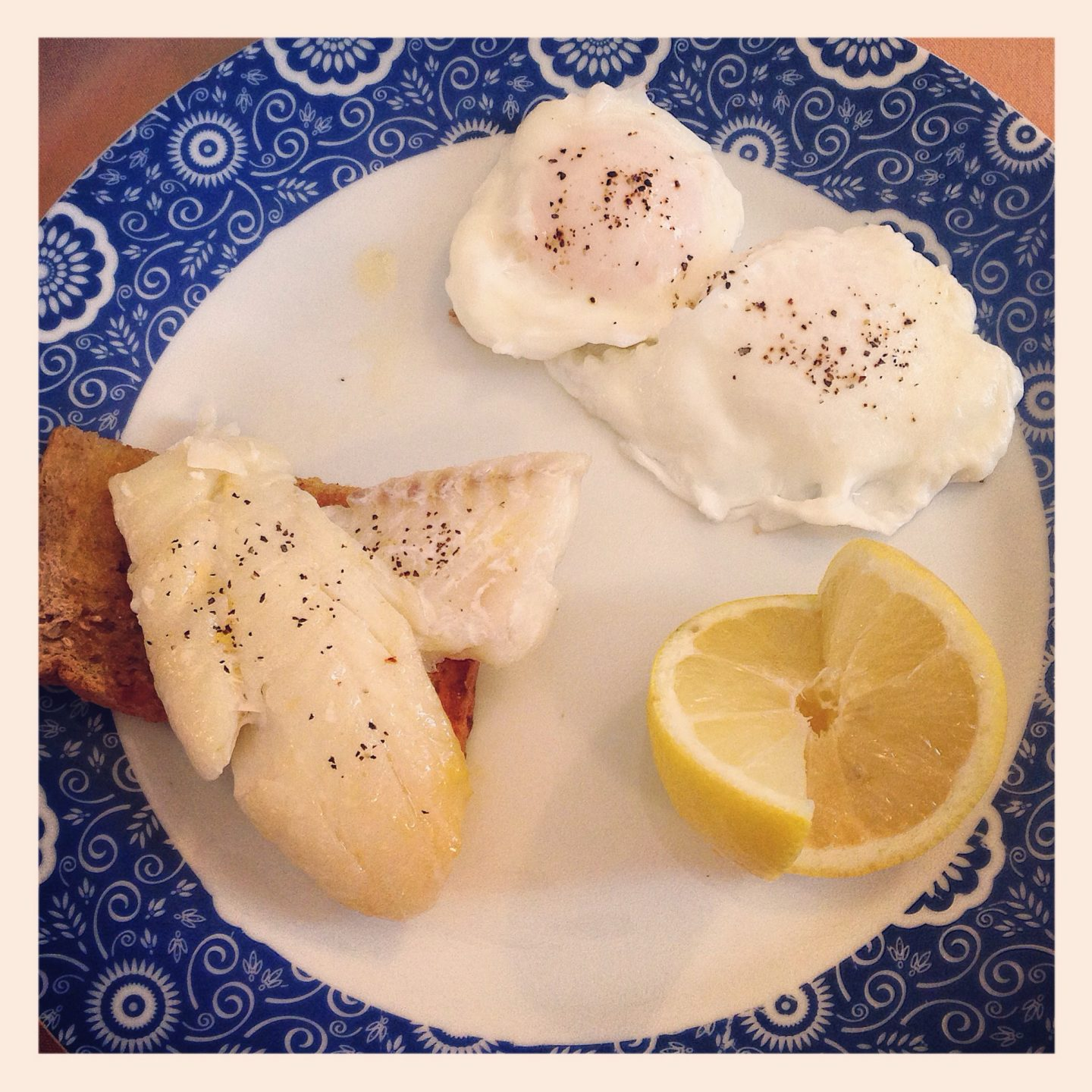 Smoked haddock and poached eggs