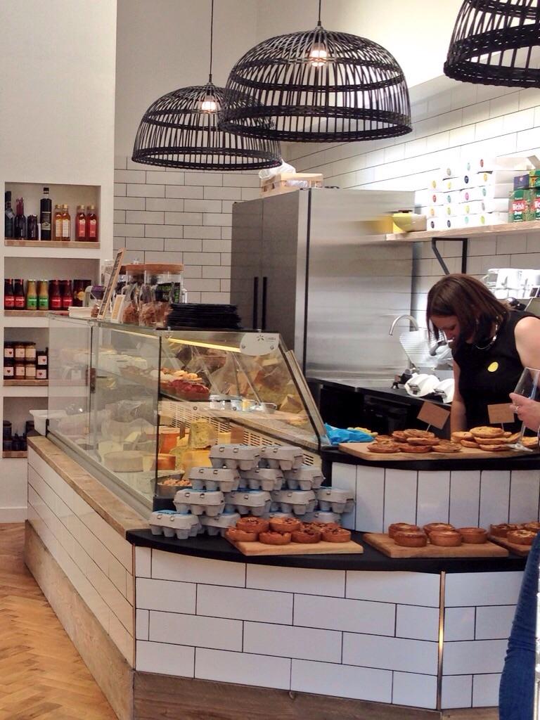 The deli counter at Canna Deli