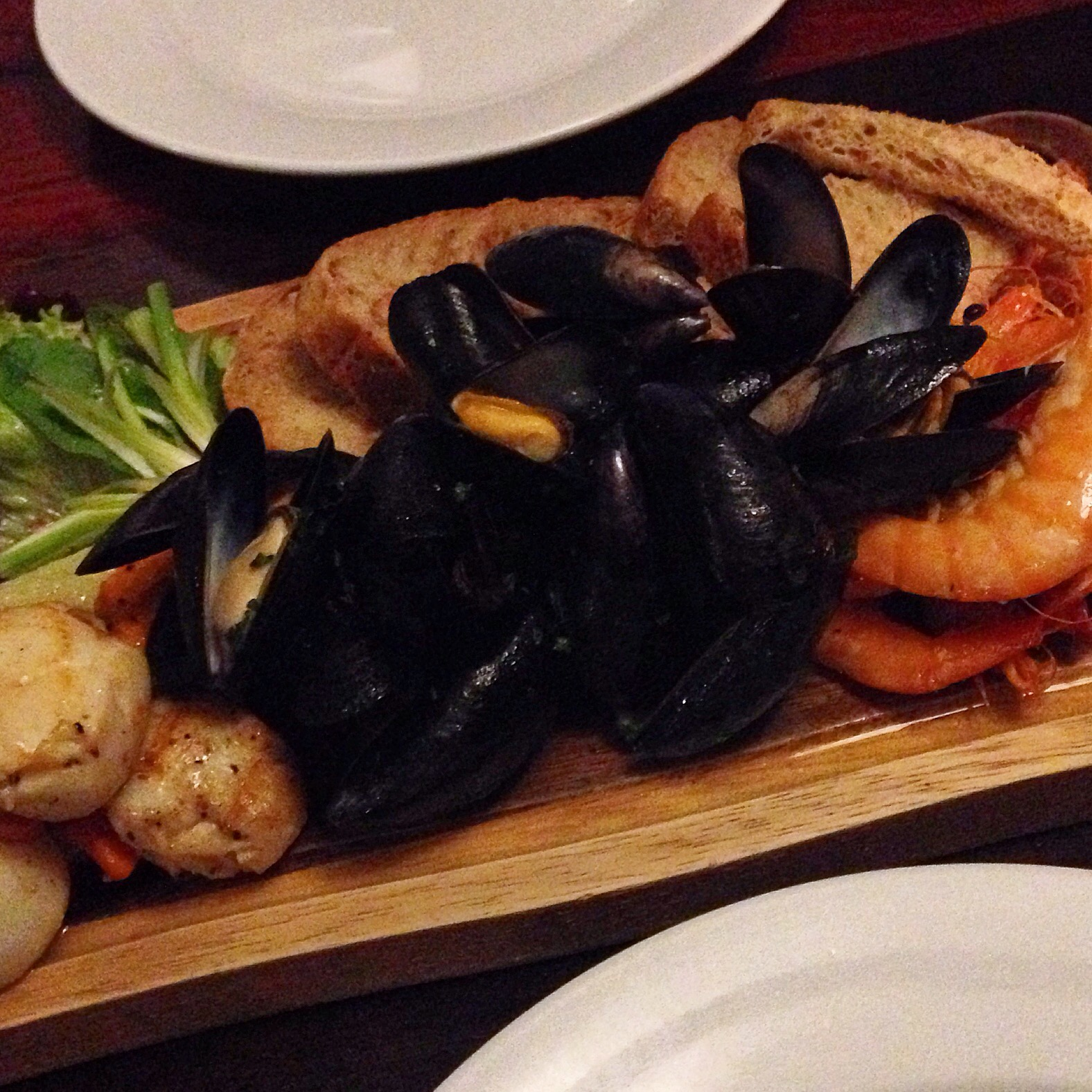 The seafood platter at The Ship Inn