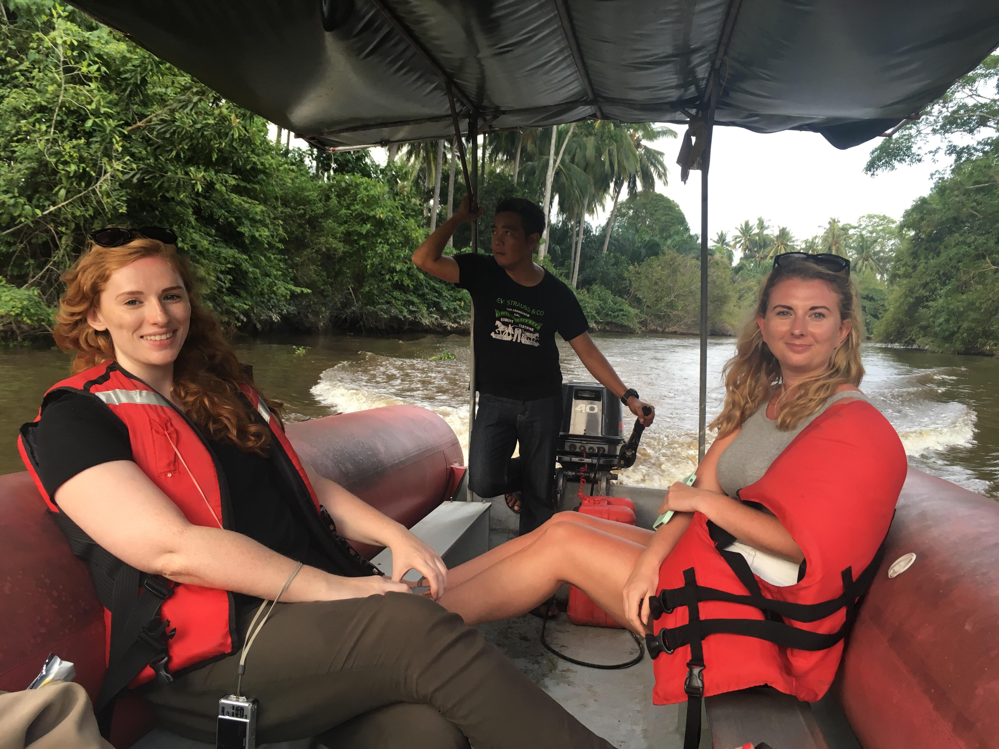 Borneo boat trip