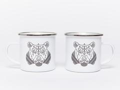 5. The enamel mug, £6.99