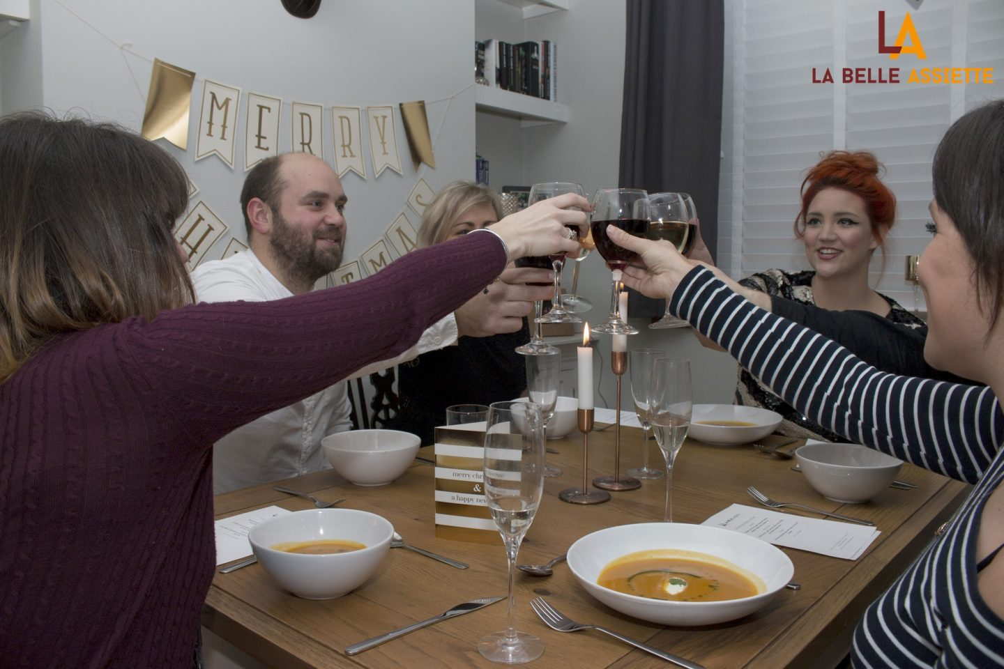 Hire a private chef for your next dinner party with La Belle Assiette