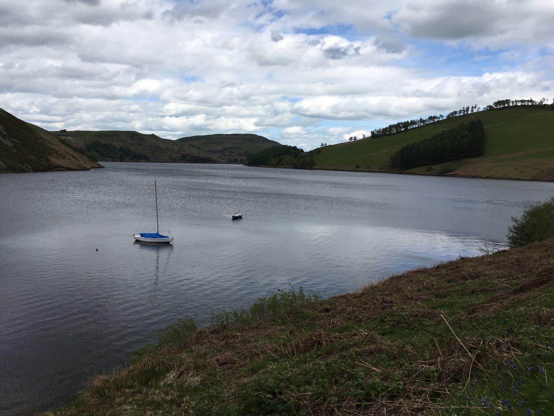 Llyn Clywedog, mid-Wales