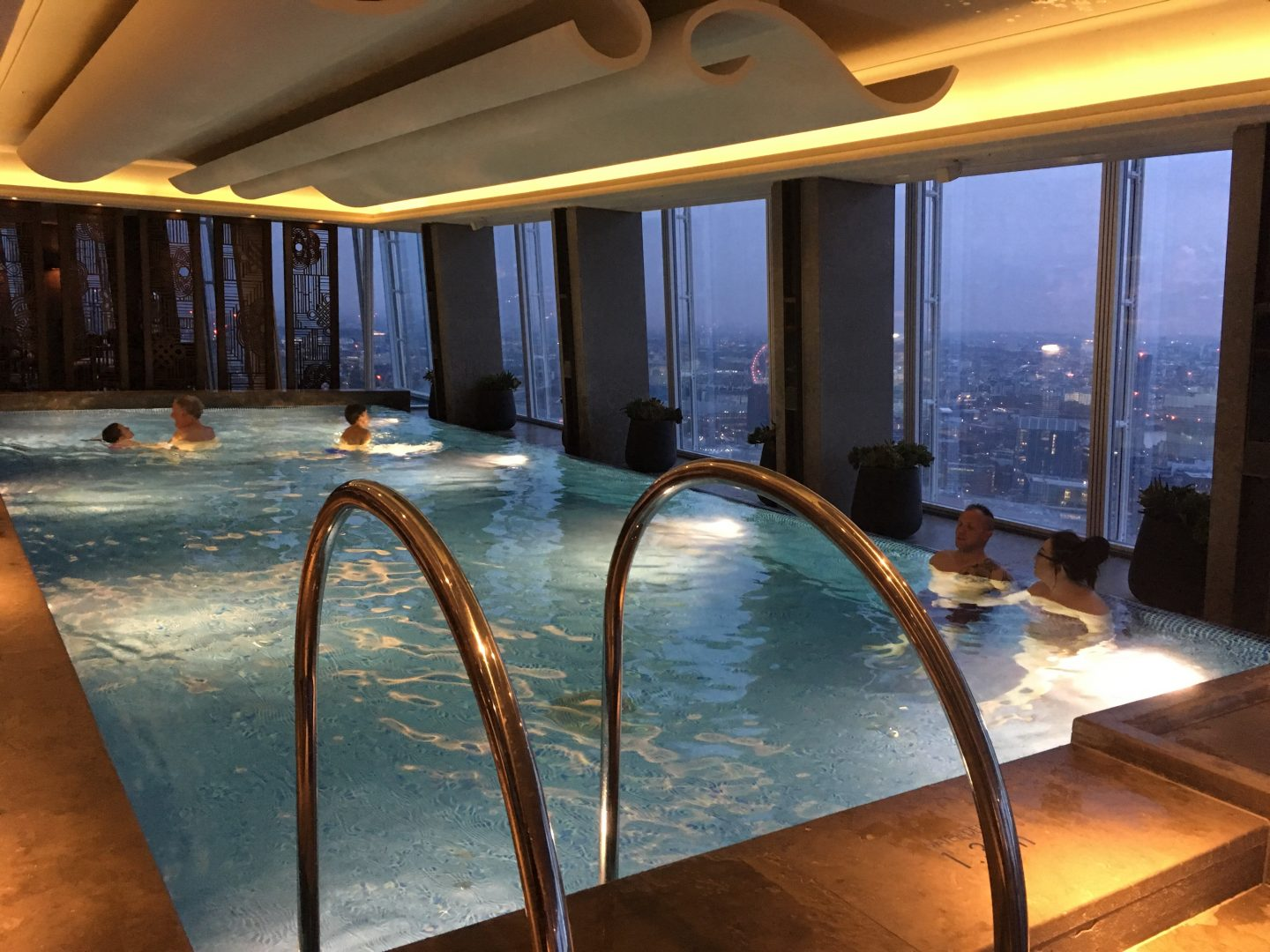 Swim pool at The Shard