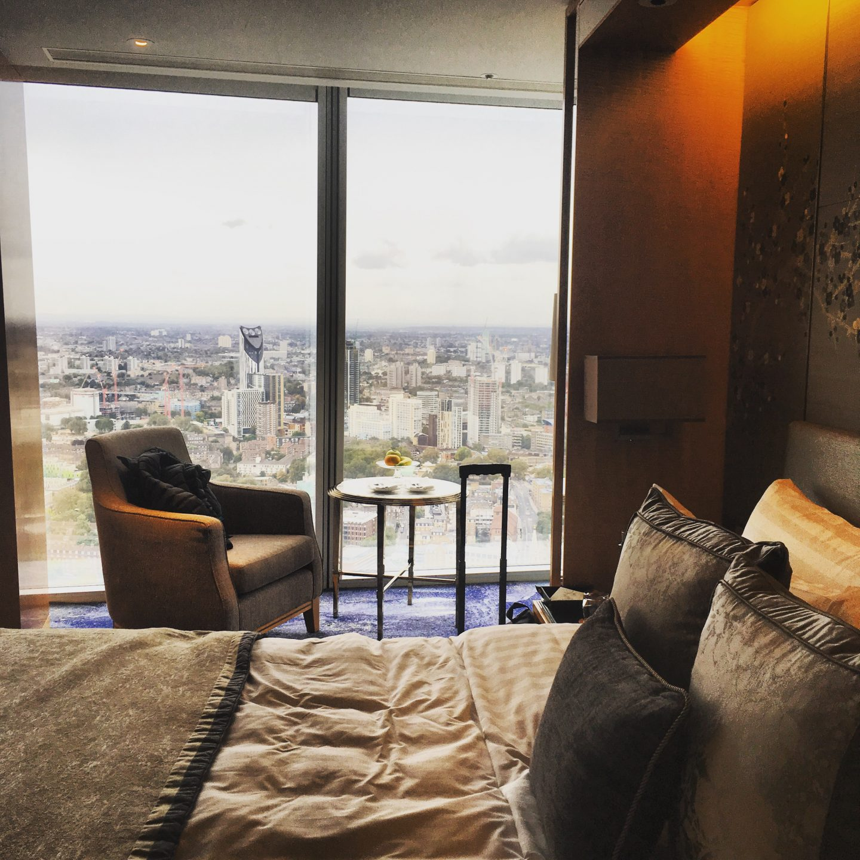 Bedroom at The Shard