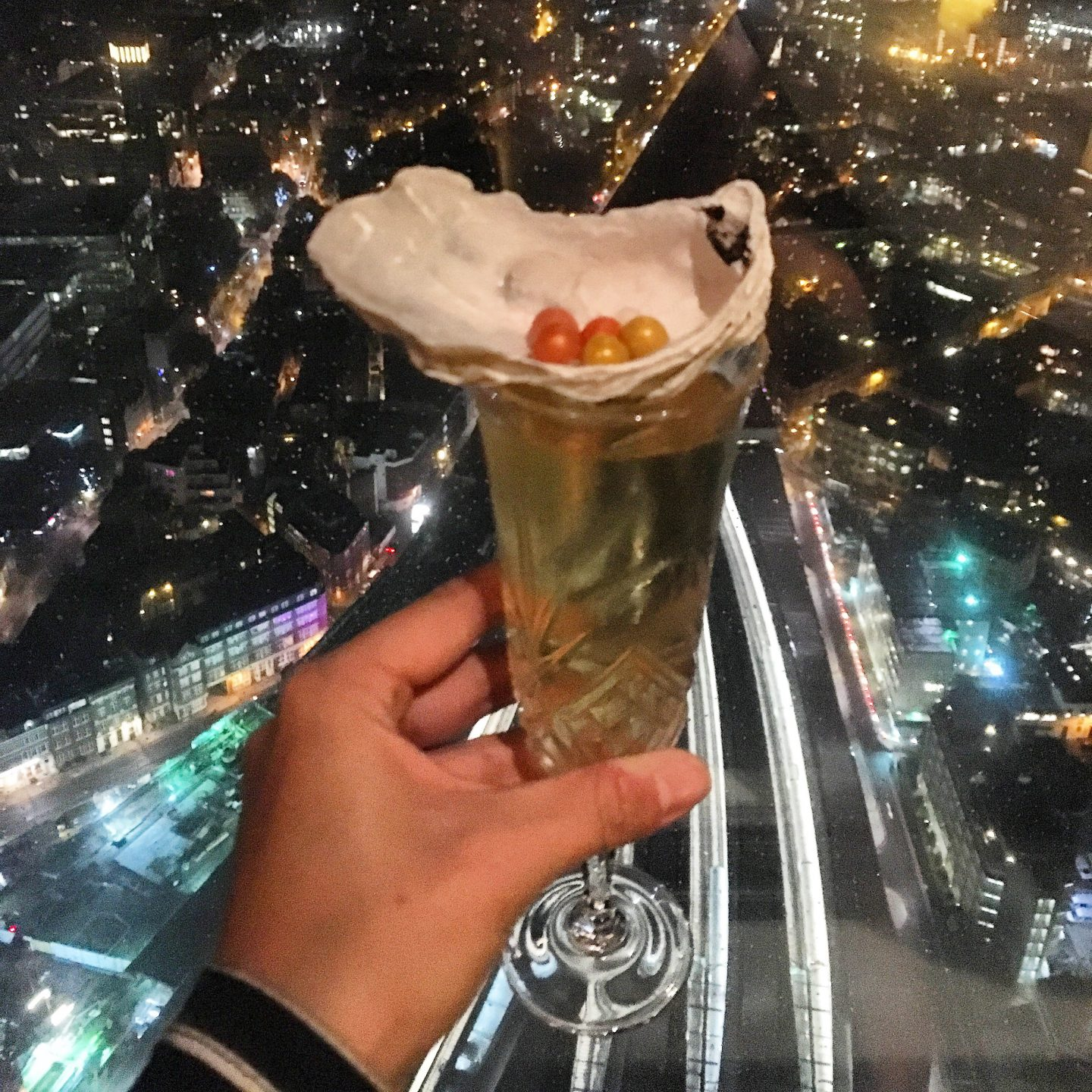 Cocktails at the Shard