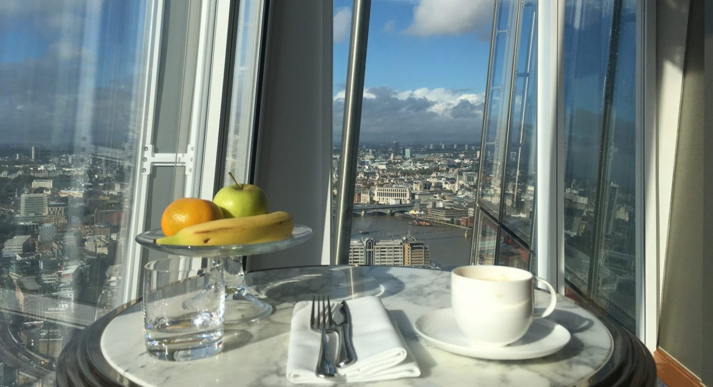 Review: A Stay at The Shangri-La Hotel at The Shard, London