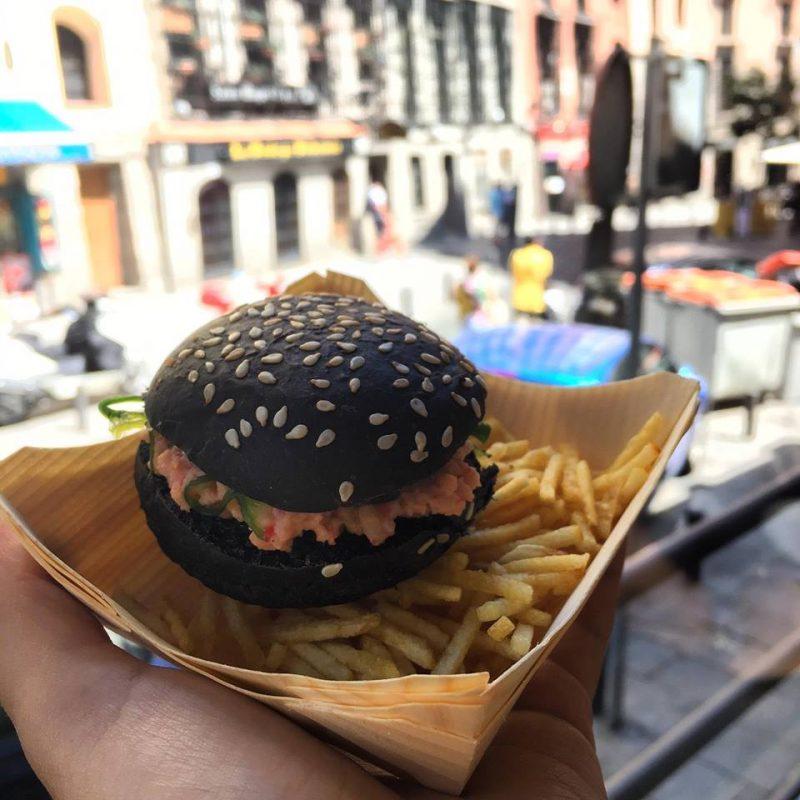 Mini Crab Burger