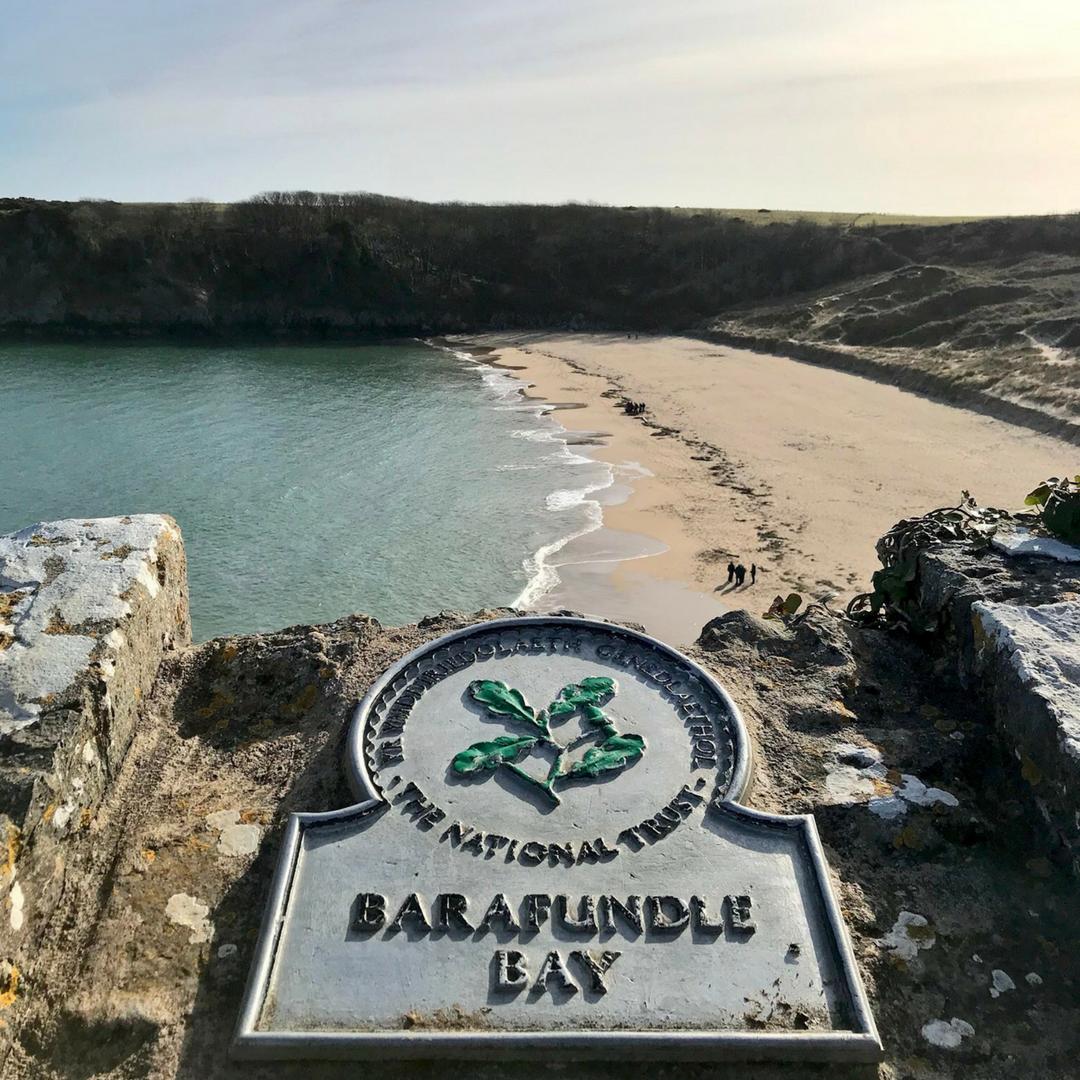 Barafundle Beach
