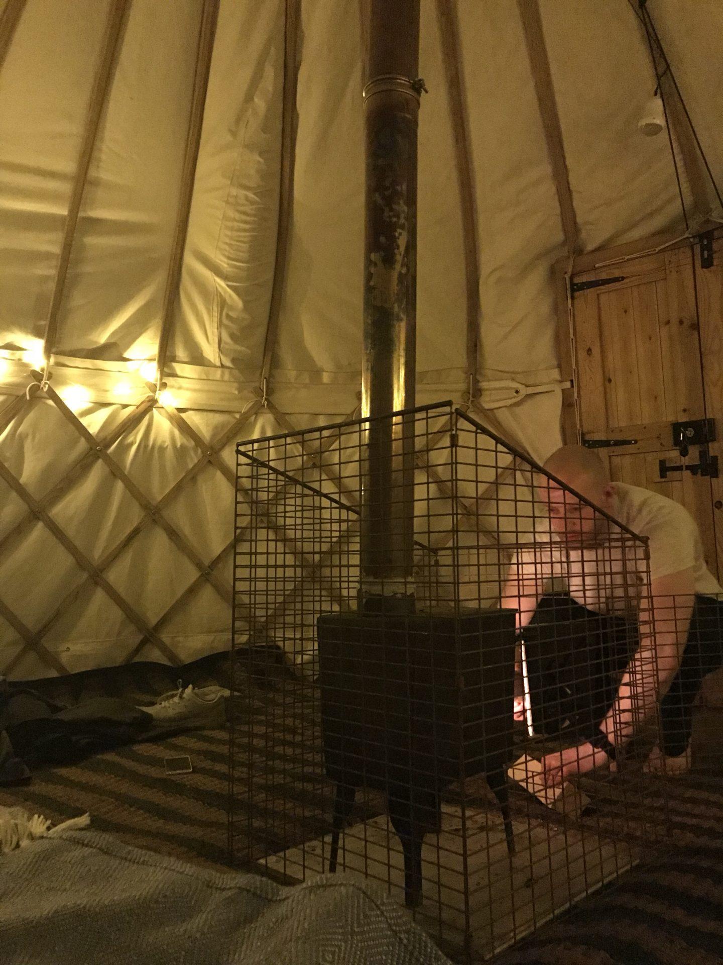Fred's Yurt