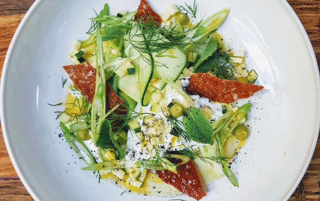 A new, fine-dining veggie supper club has launched in Cardiff